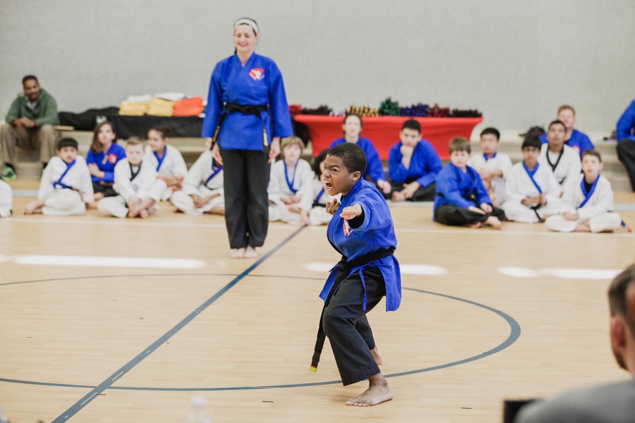martial arts uplevel indian land children